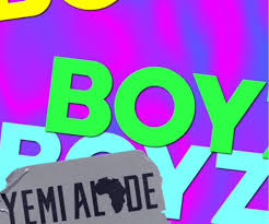 Download Yemi Alade – Boyz: Mp3 [Audio]