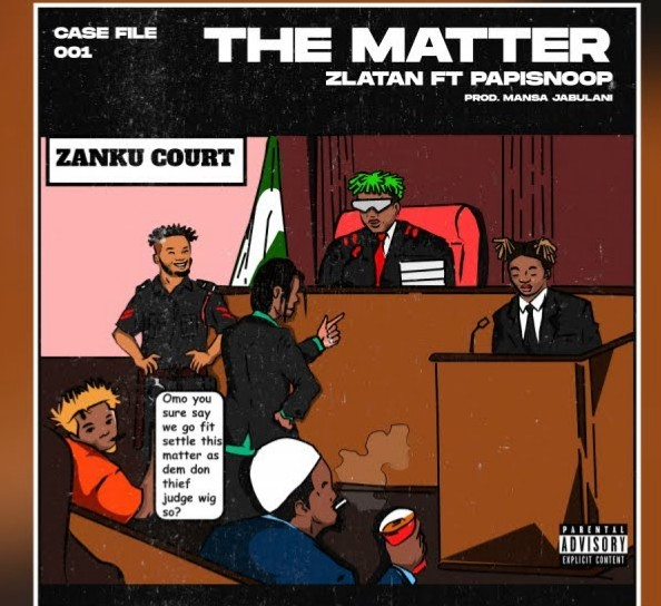 Zlatan – The Matter ft. Papisnoop