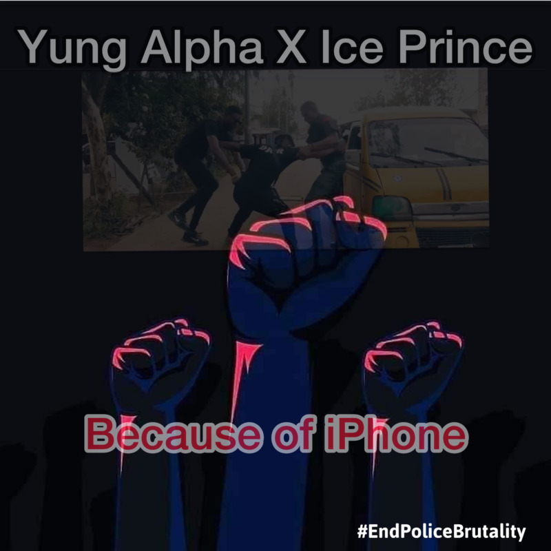 Yung Alpha – Because Of iPhone ft Ice Prince