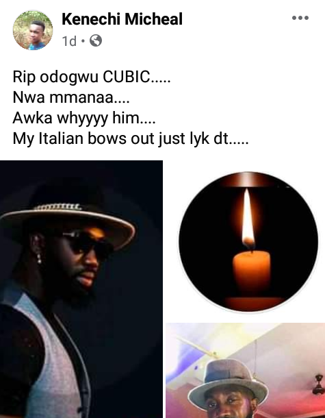 """""""Awka has done the worst ever"""" - Friends mourn as another young man is shot dead by suspected cultists in Anambra"""